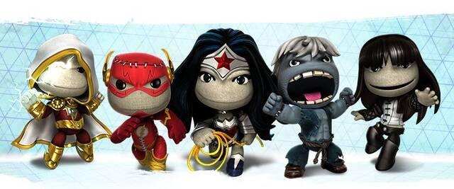 LittleBigPlanet recibe mañana un nuevo lote de trajes de DC