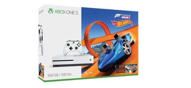 Ya está disponible el pack Xbox One S con Forza Horizon 3 Hot Wheels