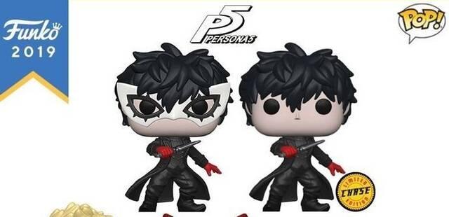 Así son las figuras Funko de Persona 5
