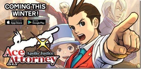 Apollo Justice: Ace Attorney llegará a iOS y Android