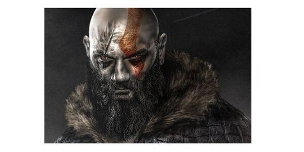 Imaginan a Dave Bautista como Kratos de God of War