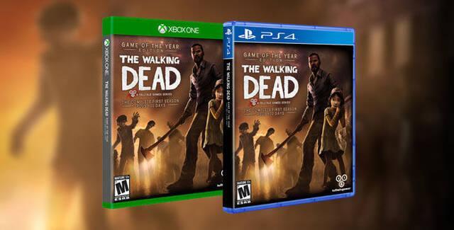 Las dos temporadas de The Walking Dead llegan a Xbox One y PS4 el 24 de octubre