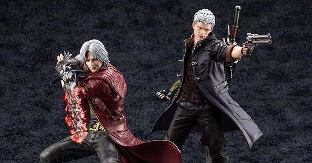 Devil May Cry 5: Presentadas unas espectaculares figuras de Nero y Dante