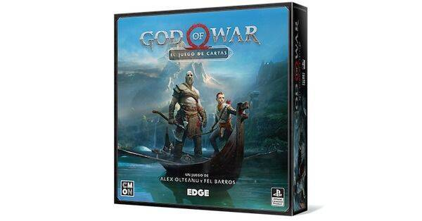 Así es God of War: el juego de cartas, el juego de mesa de EDGE basado en el éxito de PS4