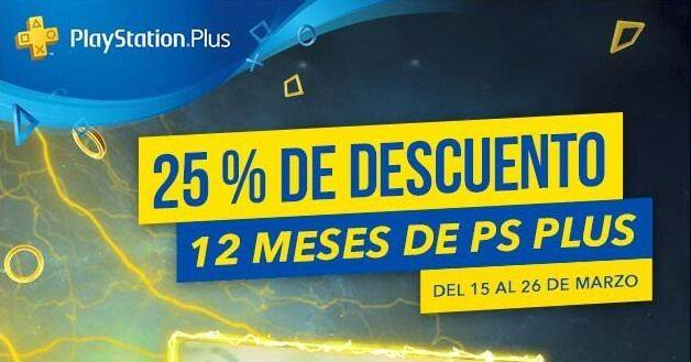 PlayStation Plus anuncia un descuento del 25% en la suscripción anual