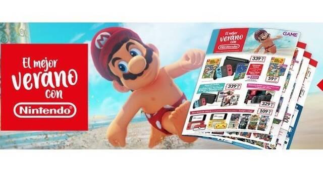 GAME celebra el verano con unas refrescantes ofertas dedicadas a Nintendo