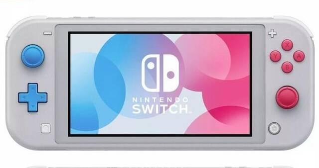 Nintendo Switch Lite muestra su edición especial limitada de Pokémon Espada y Escudo