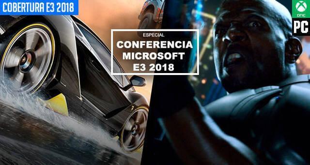 E3 2018: Sigue aquí la conferencia de Microsoft / Xbox - EN DIRECTO