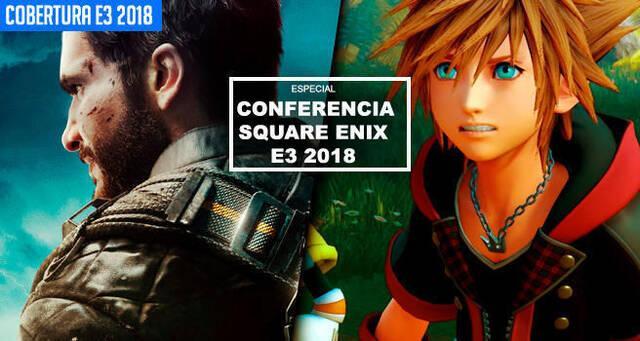 E3 2018: Sigue aquí la conferencia de Square Enix - EN DIRECTO