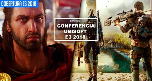E3 2018: Sigue aquí la conferencia de Ubisoft - EN DIRECTO