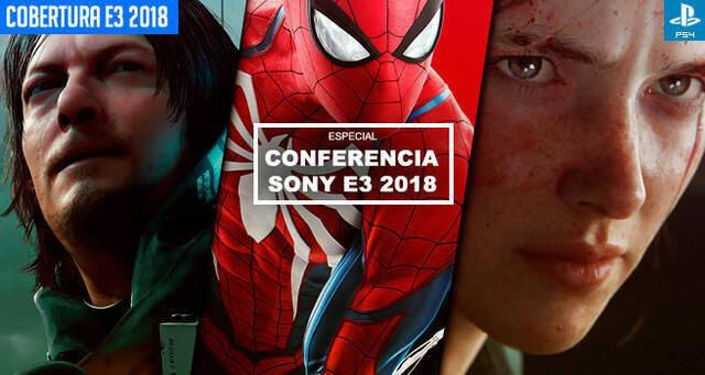 E3 2018: Sigue aquí la conferencia de Sony PlayStation - EN DIRECTO