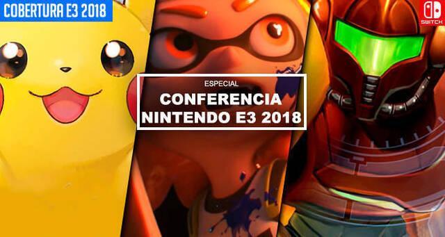 E3 2018: Sigue aquí la conferencia de Nintendo - EN DIRECTO