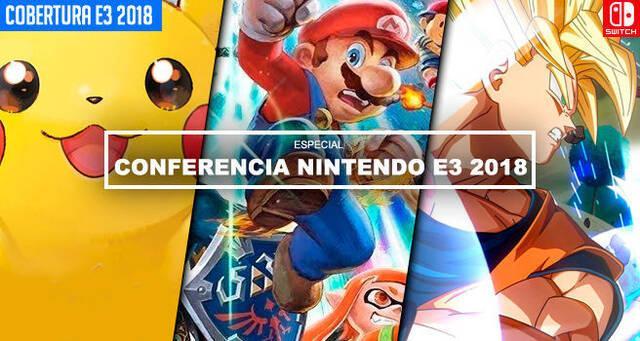 E3 2018: Resumen conferencia Nintendo: El 'Smash Bros. Direct' deja encantados a sus fans