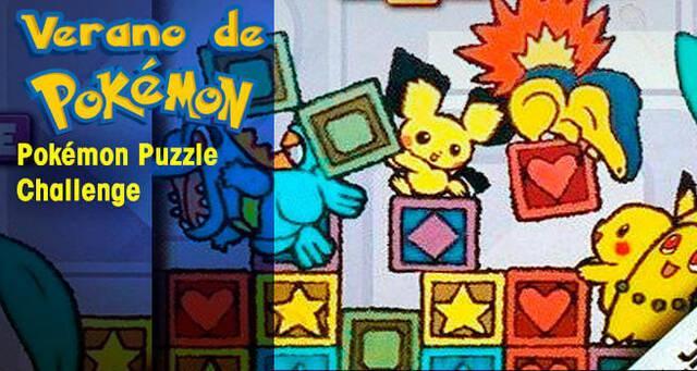 Verano de Pokémon: Pokémon Puzzle Challenge