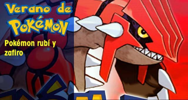 Verano de Pokémon: Pokémon Rubí y Zafiro
