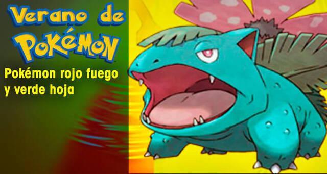 Verano de Pokémon: Pokémon Rojo Fuego y Verde Hoja