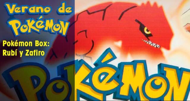 Verano de Pokémon: Pokémon Box Rubí y Zafiro