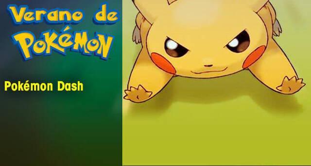 Verano de Pokémon: Pokémon Dash