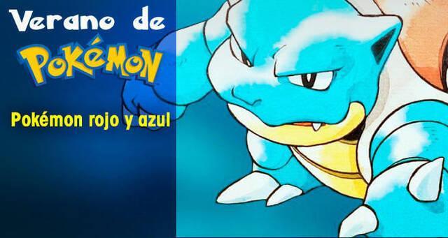 Verano de Pokémon: Pokémon Rojo y Azul