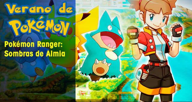 Verano de Pokémon: Pokémon Ranger Shadows of Almia