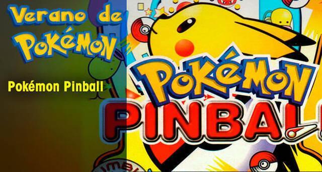 Verano de Pokémon: Pokémon Pinball