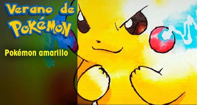 Verano de Pokémon: Pokémon Amarillo