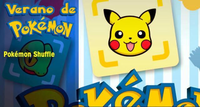 Verano de Pokémon: Pokémon Shuffle