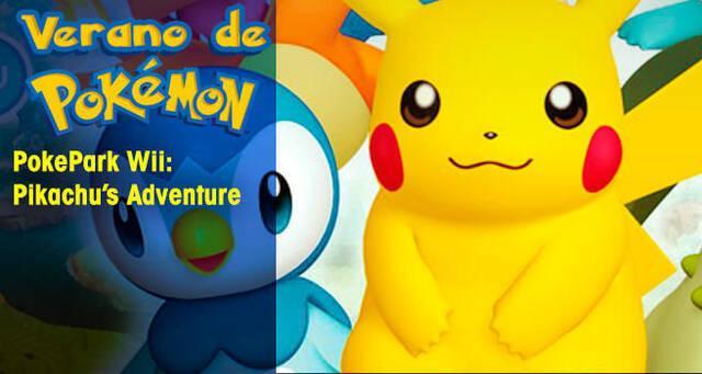 Verano de Pokémon: PokéPark Wii: La Gran Aventura de Pikachu