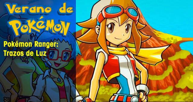 Verano de Pokémon: Pokémon Ranger: Trazos de Luz
