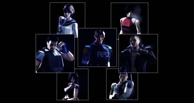 Trajes de '32 bits' para Resident Evil 6