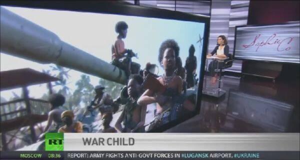 Usan una imagen de Metal Gear Solid V en un reportaje sobre niños soldados