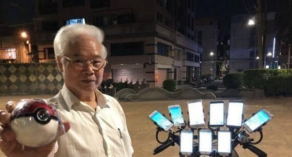 El célebre anciano de Pokémon GO estrena nuevo ingenio con 21 móviles