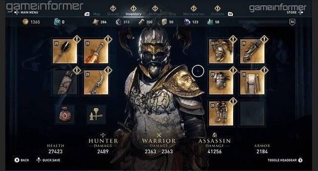 Assassin's Creed Odyssey revela cuál será su arma y armadura más épicas
