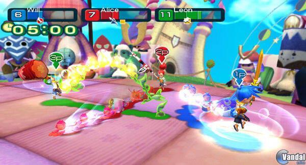 E3: Anunciado Line Attack Heroes para Wii; primeras imágenes