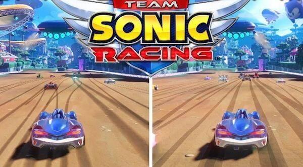 Team Sonic Racing: Comparan tiempos de carga y aspecto gráfico en PS4 y Switch