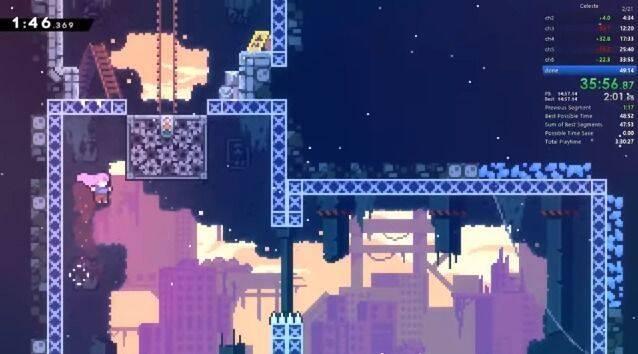 Completan Celeste, el desafiante juego de plataformas, en 47 minutos
