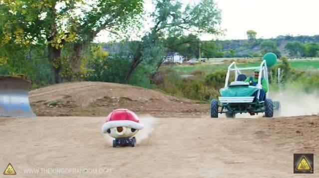 El caparazón rojo de Mario Kart se hace realidad con este coche teledirigido