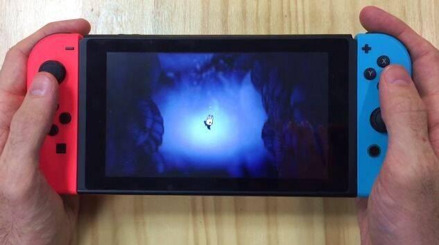 Hollow Knight se muestra en Switch por primera vez en su modo portátil