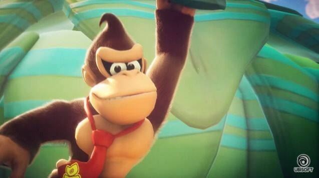 Donkey Kong se suma a Mario + Rabbids Kingdom Battle