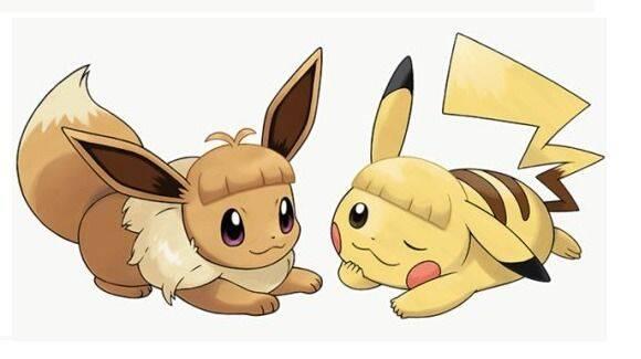 Le puedes poner flequillo a Pikachu y a Eevee en Pokémon: Let's Go