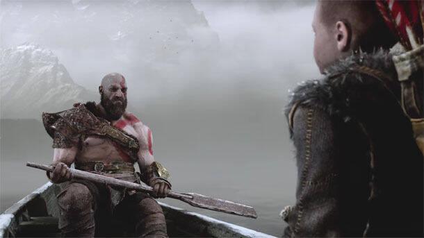Explican el rol que tendrán las balsas en God of War