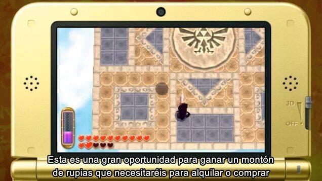 Crea tu propio Link Oscuro en The Legend of Zelda: A Link Between Worlds y compártelo en StreetPass