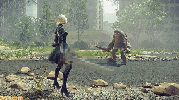 NieR: Automata tendrá una colaboración con Final Fantasy XV