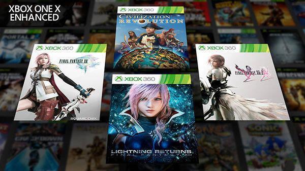 Final Fantasy XIII, XIII-2 y Lightning Returns retrocompatibles con XOne