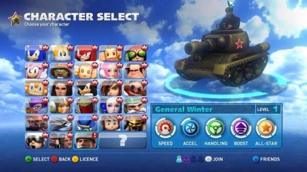Un nuevo personaje para Sonic & All-Stars Racing Transformed en PC