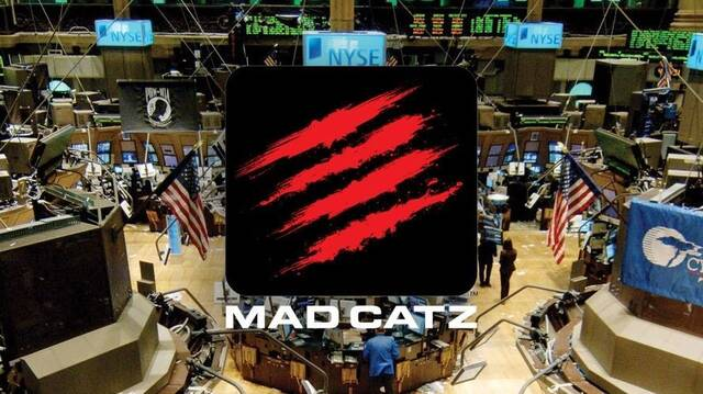 El fabricante de periféricos Mad Catz se declara en bancarrota
