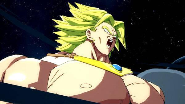 Dragon Ball FighterZ presenta a Broly en acción