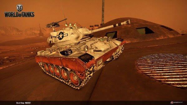 World of Tanks añade un modo ambientado en Marte
