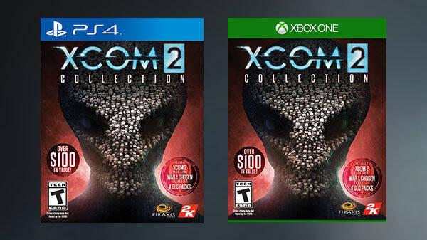 2K anuncia XCOM 2 Collection para consolas