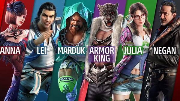 Julia, Craig y Armor King cerrarán la segunda temporada de Tekken 7